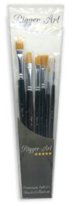 Rigger Art Watercolor Brush Set Of 6