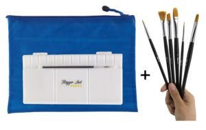 Rigger Art Short handle Paintbrush Set
